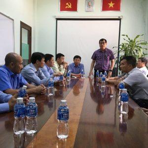 Lãnh đạo Tổng công ty thép Việt Nam đến chúc Tết Vingal ngày đầu Xuân Mậu Tuất 2018