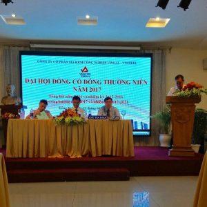 Vingal tổ chức Đại hội Cổ đông thường niên năm 2017