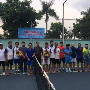 Tổ chức giải tennis chào mừng đại hội Công đoàn công ty và Quốc khánh 2-9